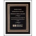 P3930 Black Stained Piano Finish Plaque